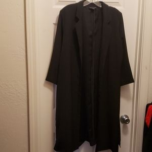 Metaphor XL long blazer with 2 slits on the sides
